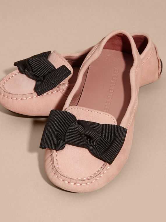 Ash rose Bow Detail Leather Loafer - cell image 2