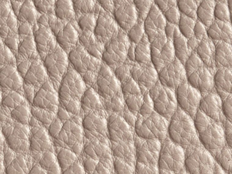 Pale grey Signature Grain Leather Ziparound Wallet Pale Grey - cell image 1