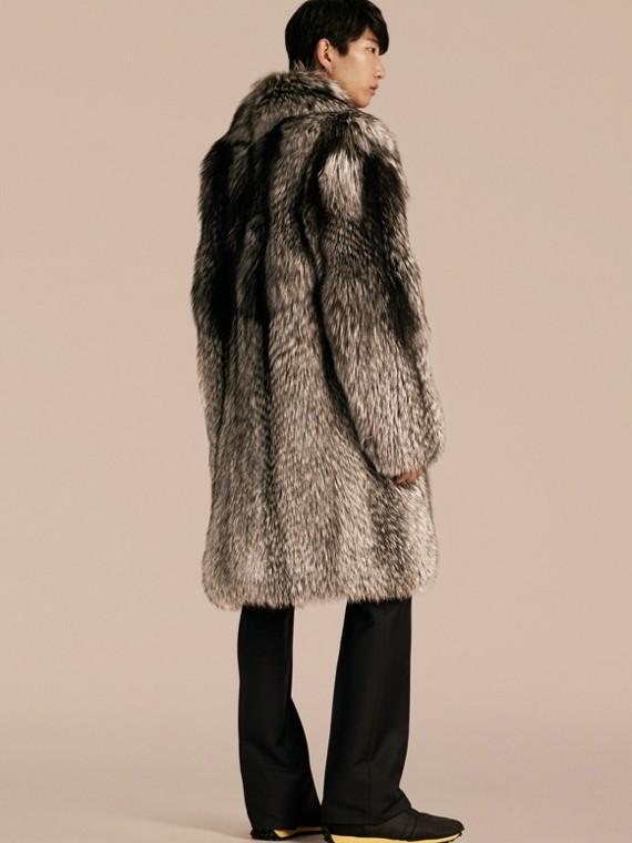 Naturale Cappotto in pelliccia di volpe - cell image 2