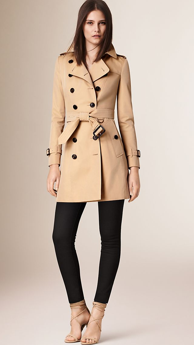 The Chelsea –Mid-length Heritage Trench Coat