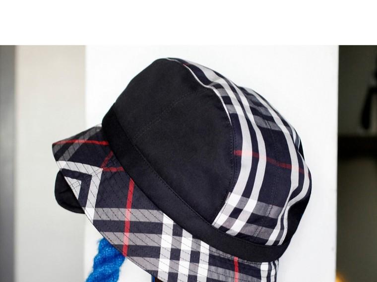 Gosha x Burberry Bucket Hat in Navy | Burberry - cell image 4