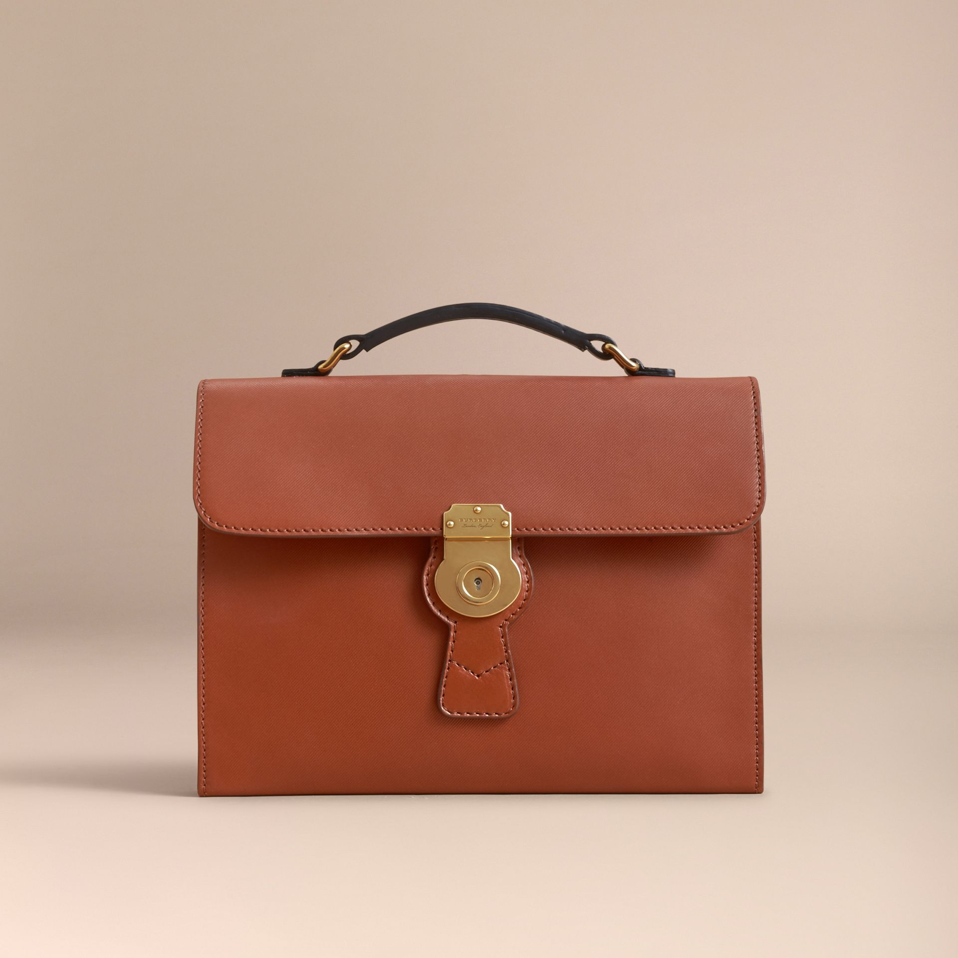 The DK88 Document Case in Tan - Men | Burberry - gallery image 5