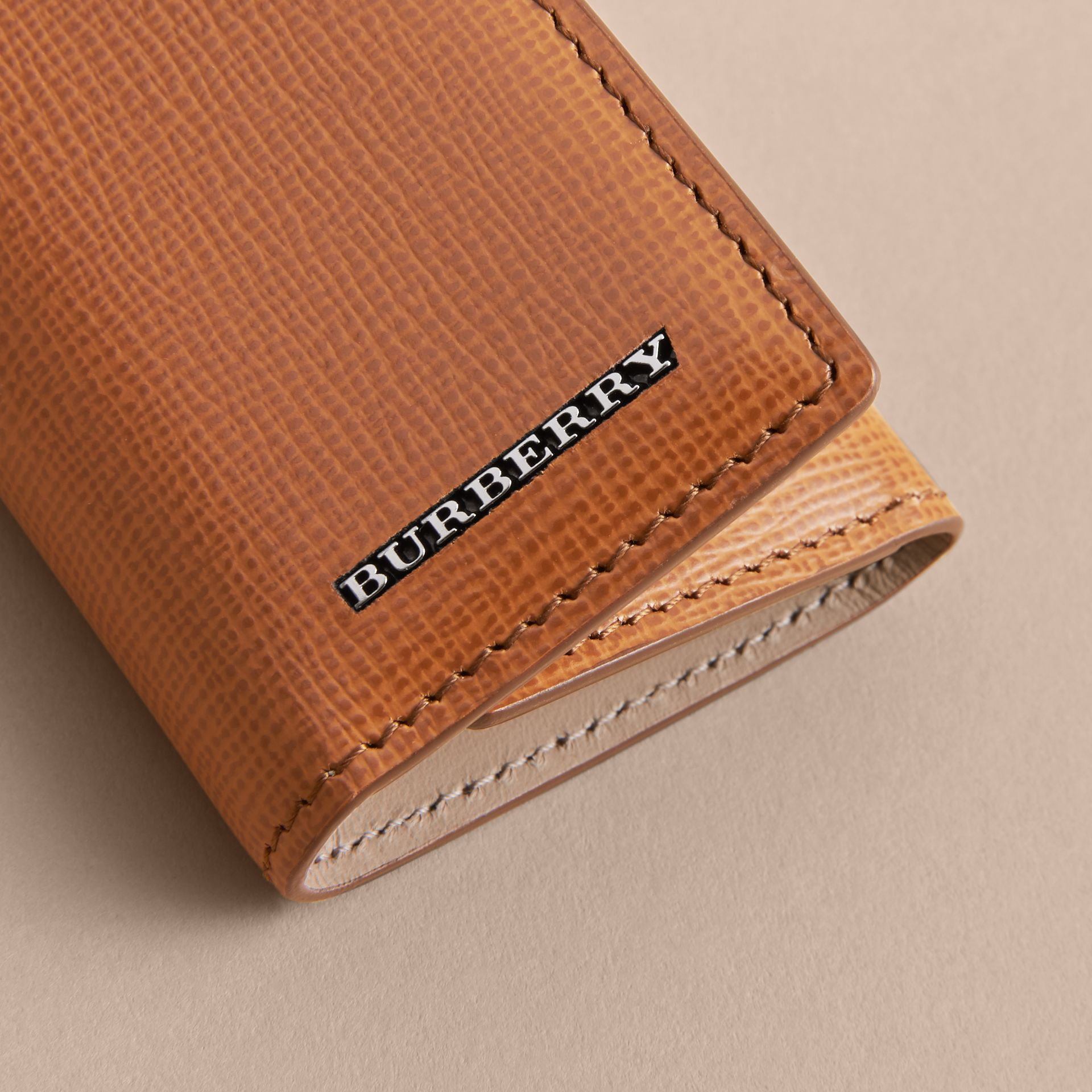 London Leather Key Holder - Men | Burberry - gallery image 2
