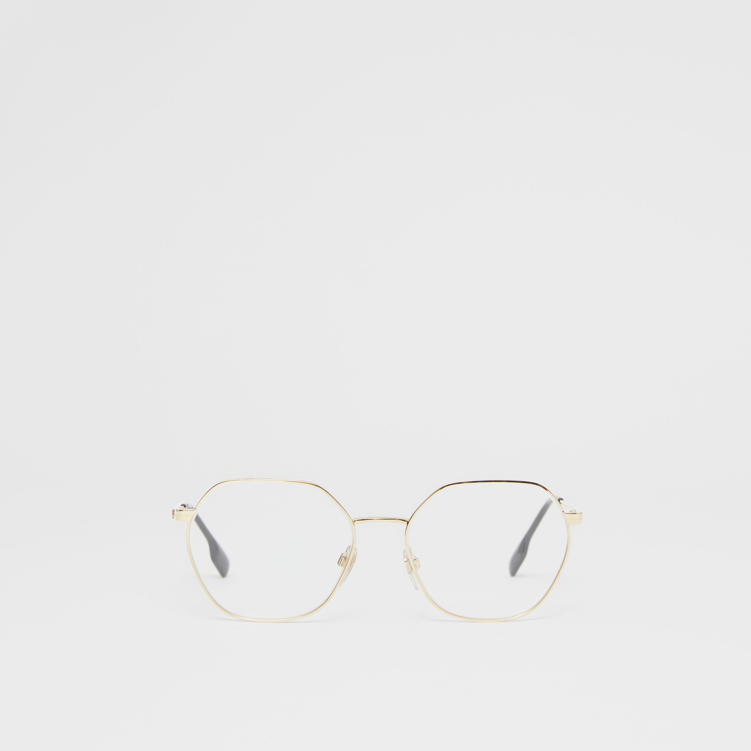 Geometric Optical Frames in Black - Women | Burberry - 1
