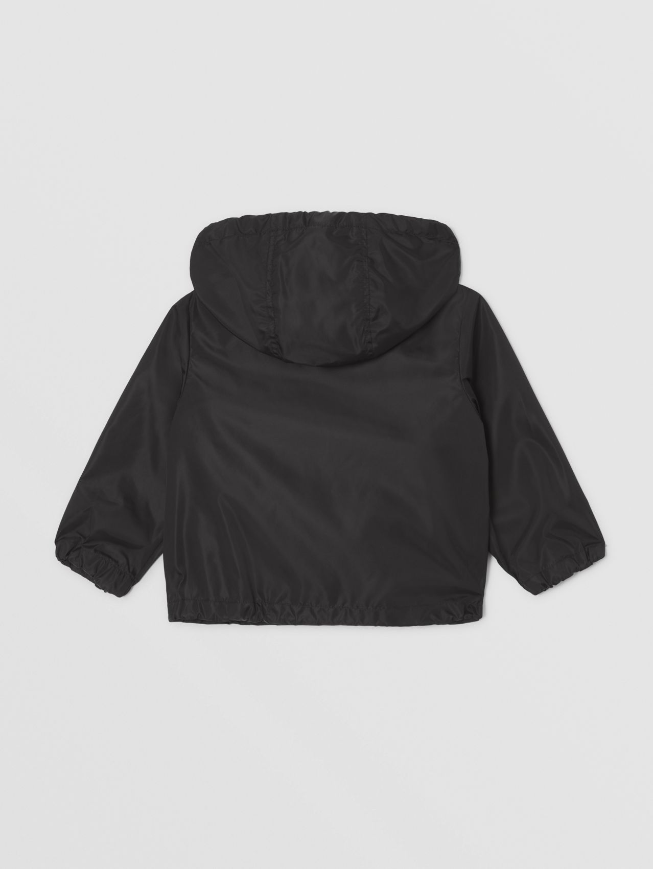 Thomas Bear Print ECONYL® Hooded Jacket in Black