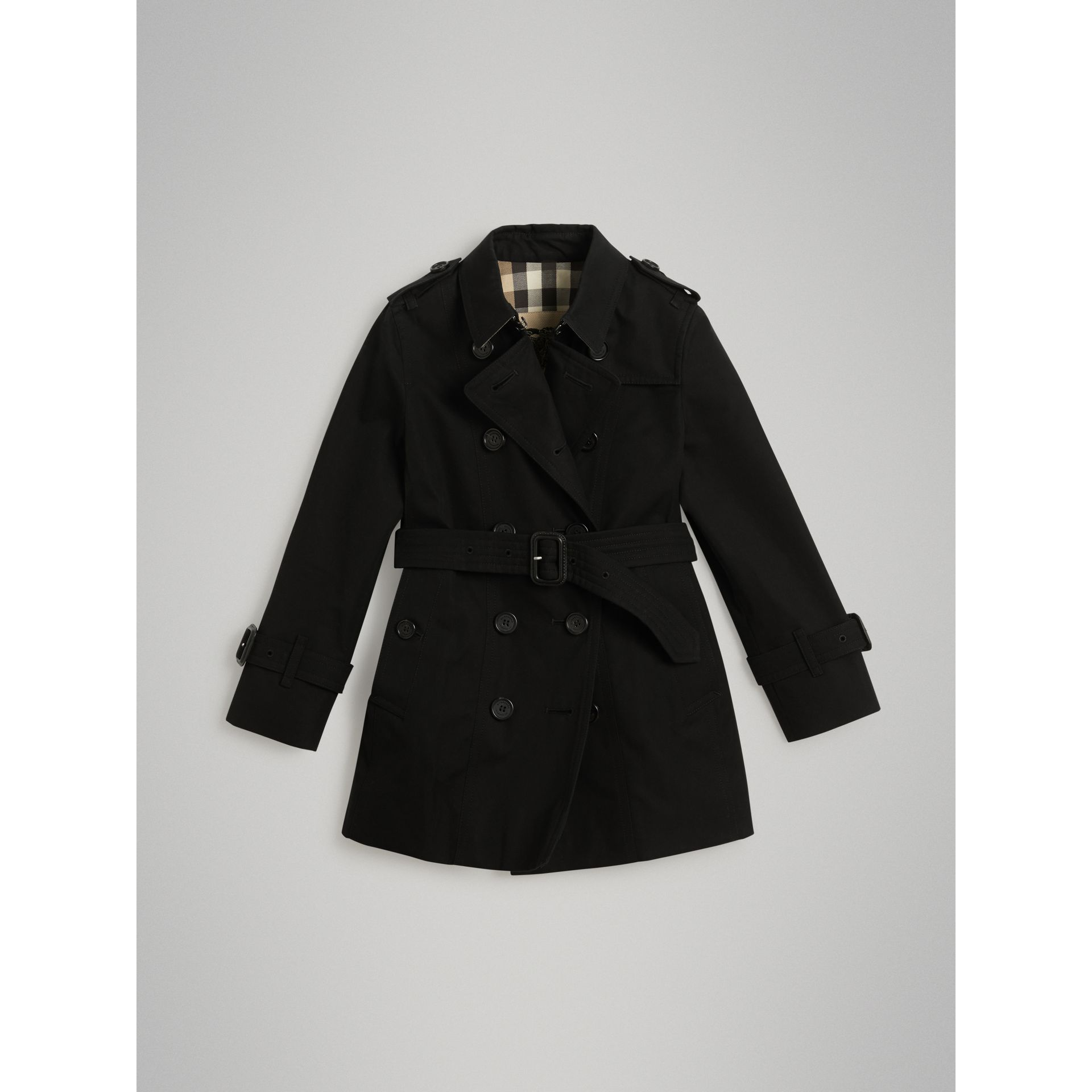 The Sandringham Trench Coat in Black | Burberry - gallery image 0