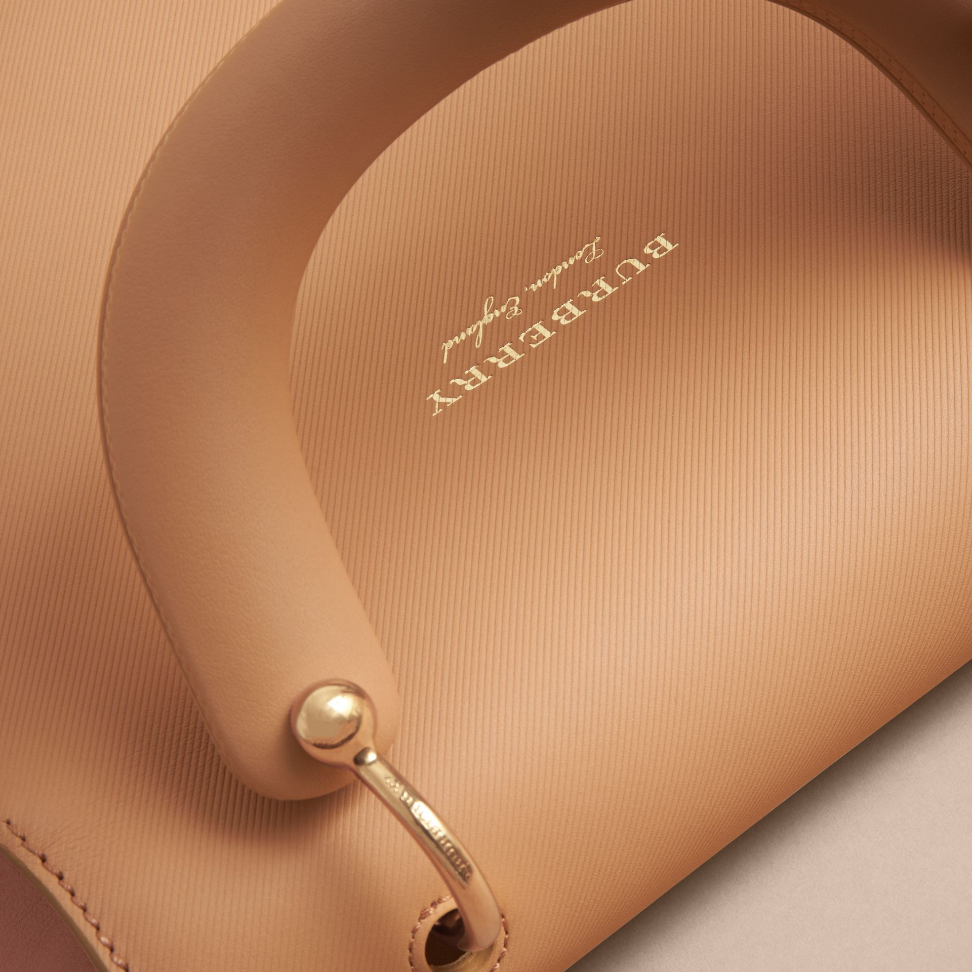The Medium DK88 Top Handle Bag in Ash Rose/pale Clementine - Women | Burberry United Kingdom - gallery image 5