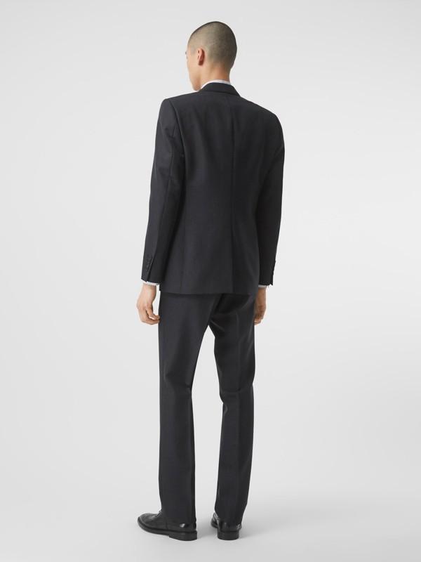 クラシックフィット パピートゥースチェック ウールモヘア スーツ (ネイビー) - メンズ | バーバリー - cell image 2