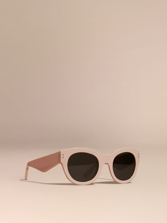 Cat-eye Sunglasses Nude