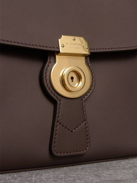 The Medium DK88 Top Handle Bag in Dark Chocolate - Women | Burberry - cell image 1