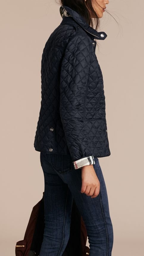 Ink Diamond Quilted Jacket Ink - Image 3