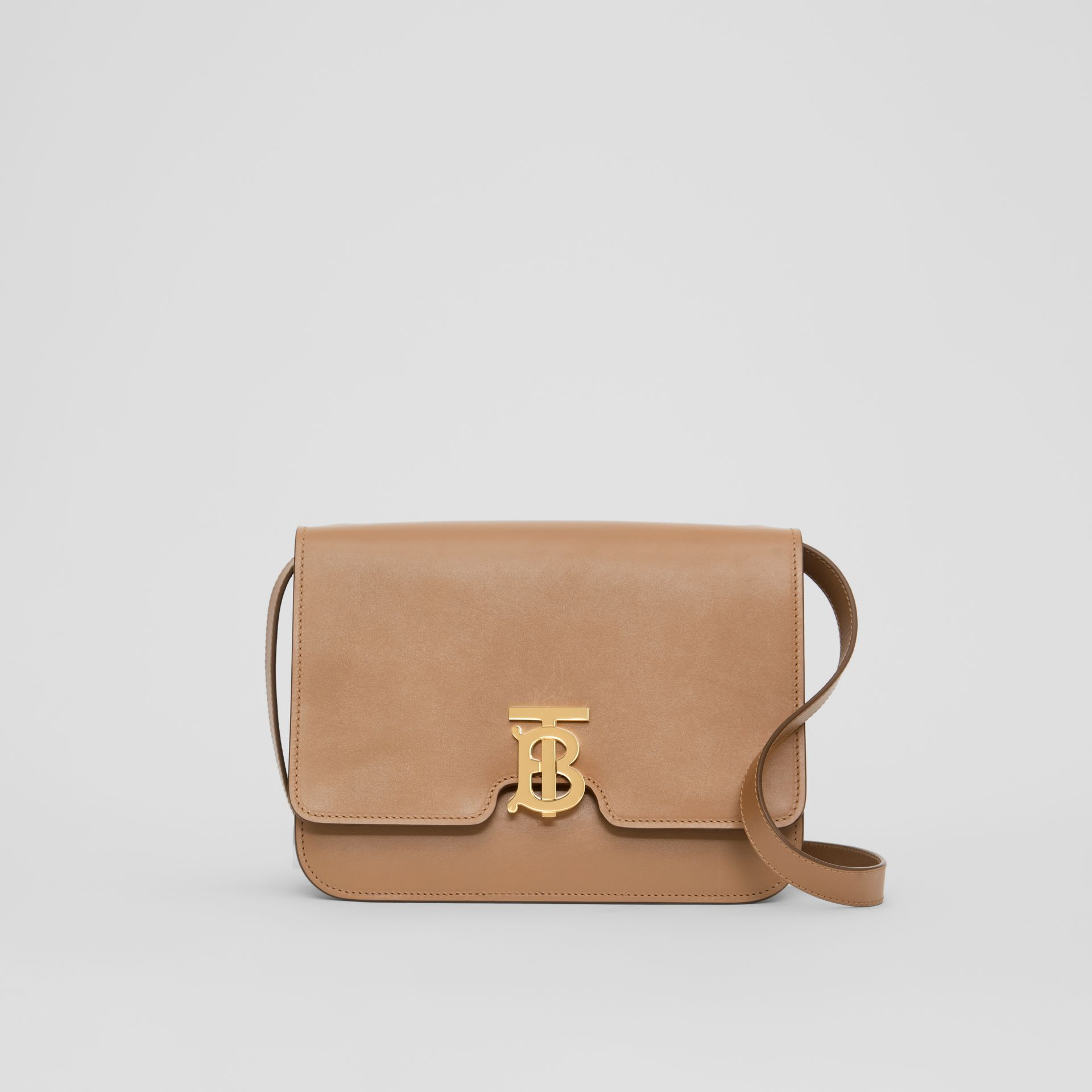 Medium Leather TB Bag in Light Camel - Women | Burberry Hong Kong - gallery image 0