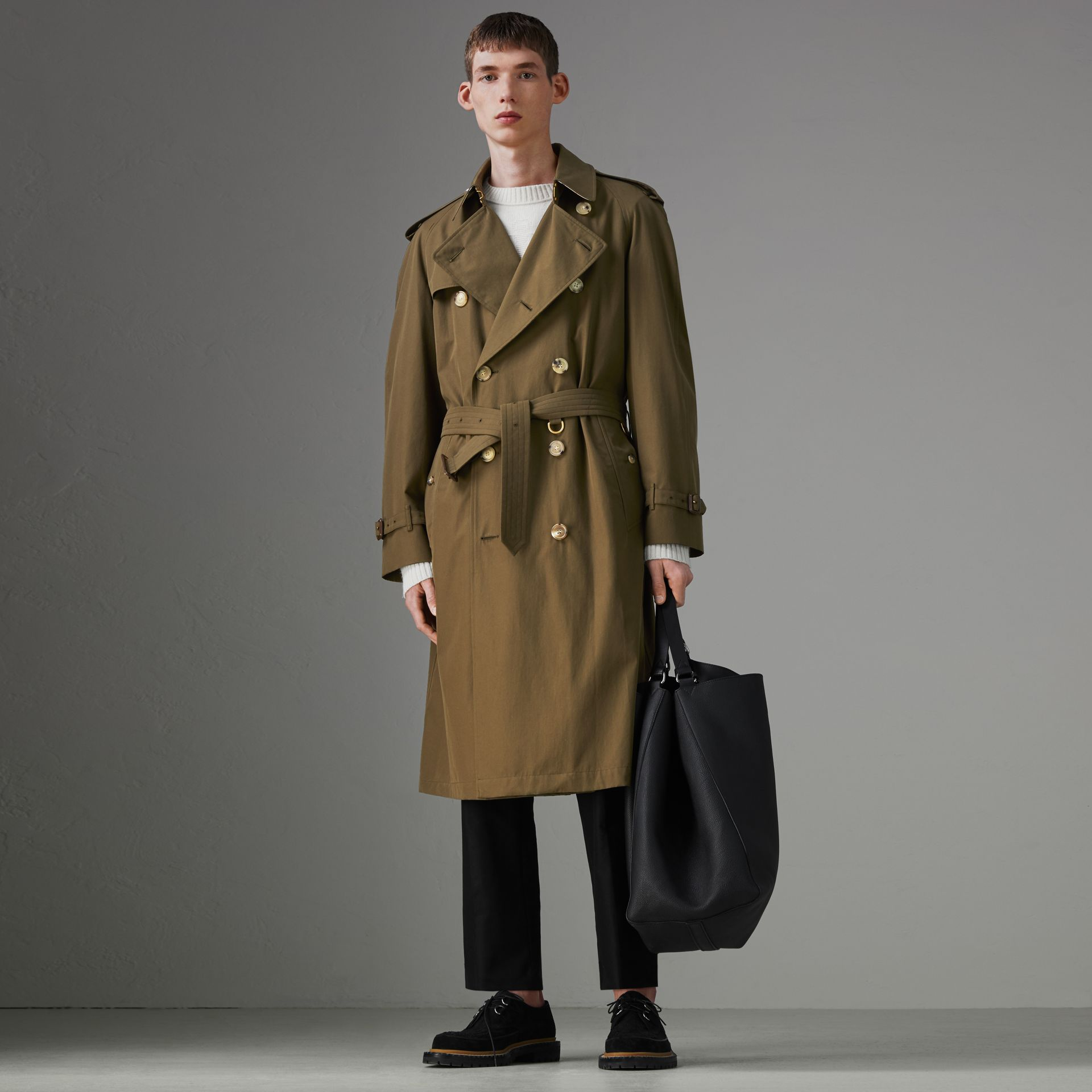 The Westminster Heritage Trench Coat in Dark Military Khaki - Men | Burberry - gallery image 0
