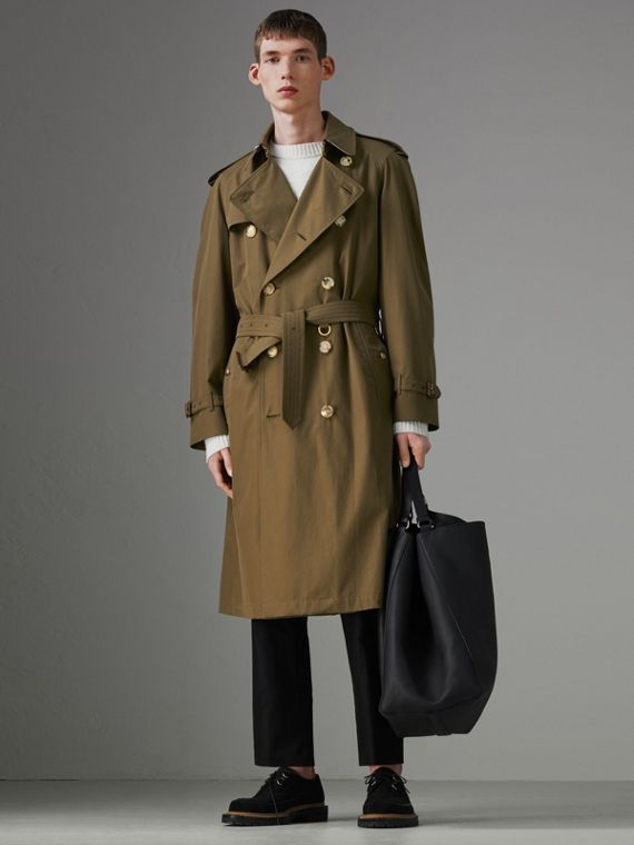 The Westminster - Trench coat Heritage (Cáqui Militar Escuro)