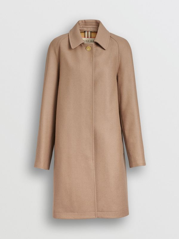 Cashmere Car Coat in Camel - Women | Burberry - cell image 3