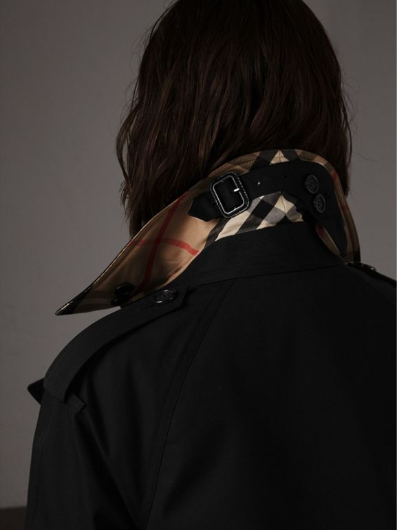 The Westminster – Extra-long Trench Coat in Black - Women   Burberry United States - cell image 1