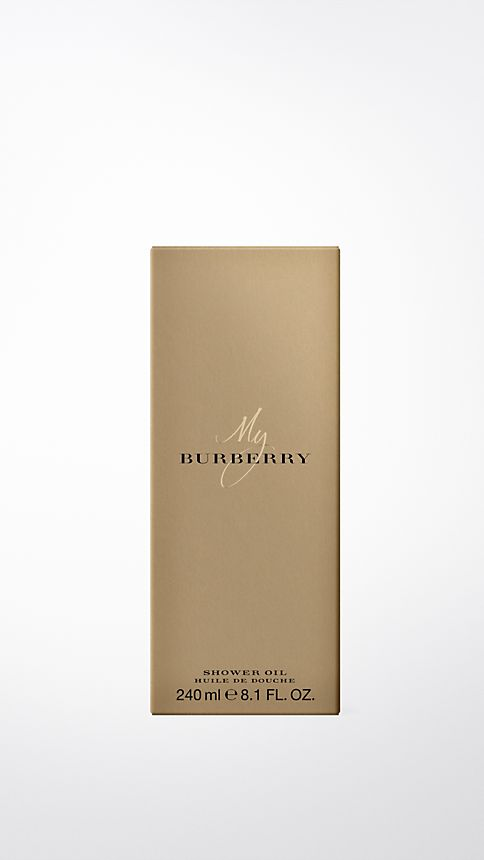 Honey trench My Burberry Shower Oil 240ml - Image 2