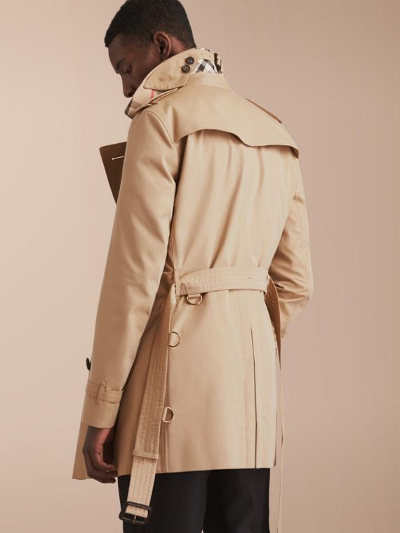 The Chelsea – Mid-length Heritage Trench Coat Honey - cell image 2