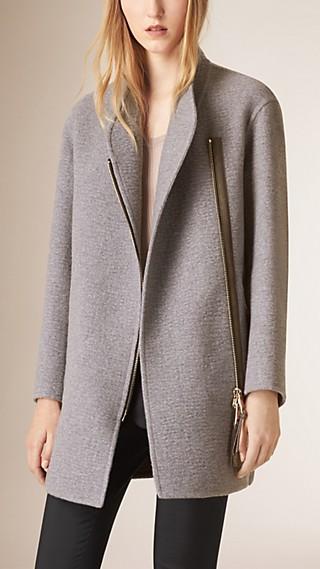Unlined Cashmere Coat