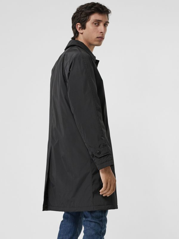 Quilt-lined Nylon Car Coat in Dark Charcoal - Men | Burberry - cell image 2