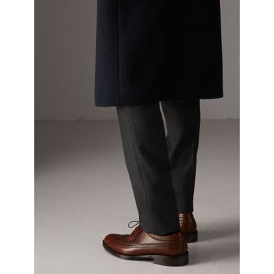 Burberry - Leather Derby Brogues - 3