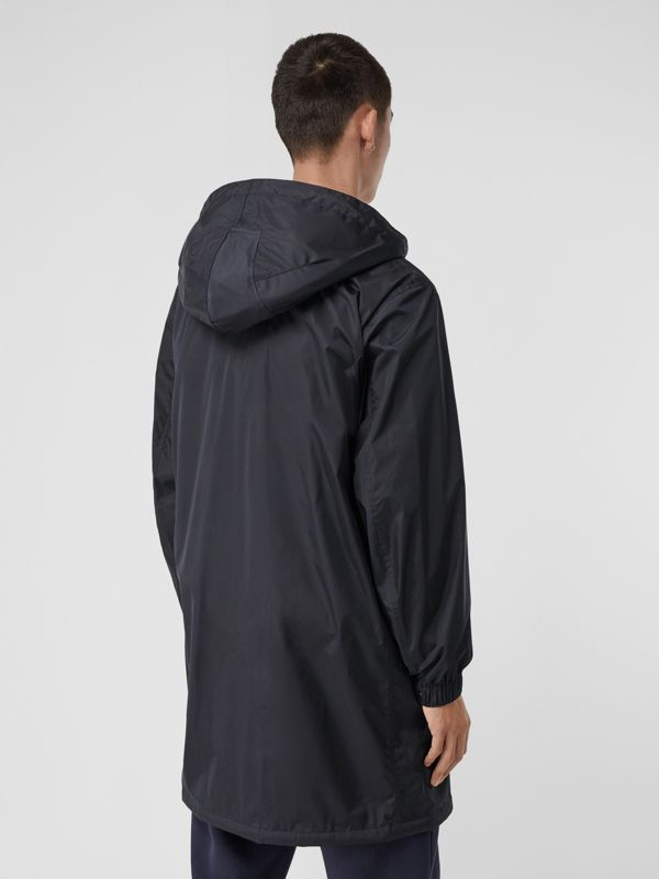 Detachable Hood Nylon Car Coat in Navy - Men | Burberry - cell image 2