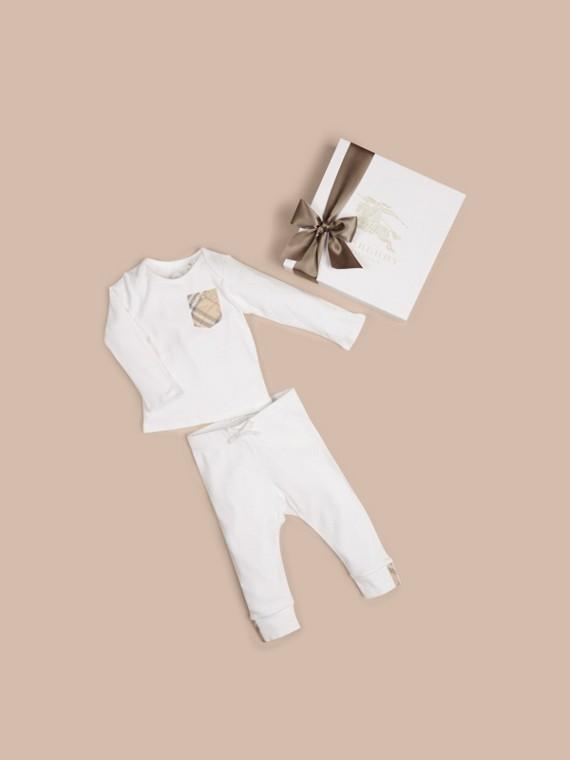 棉質兩件組嬰兒禮盒