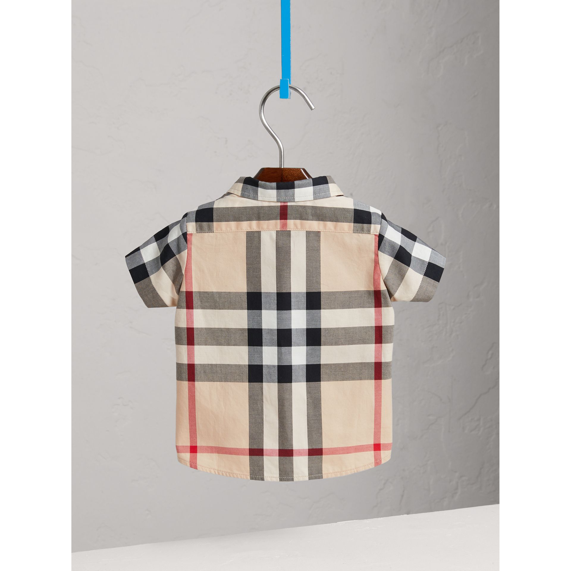 Check Cotton Twill Shirt in New Classic - Boy | Burberry United Kingdom - gallery image 3