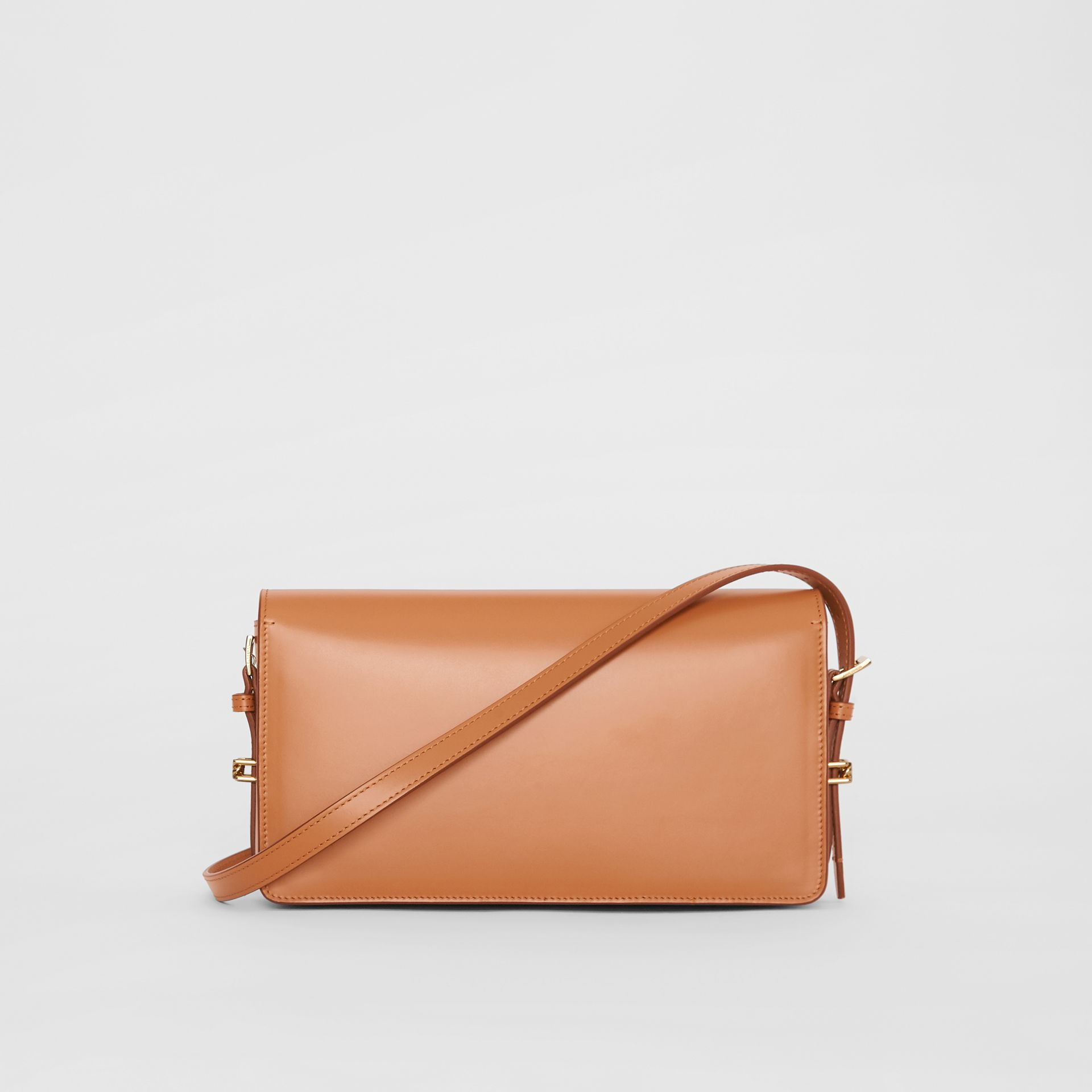 Mini Leather Grace Bag in Nutmeg - Women | Burberry - gallery image 7