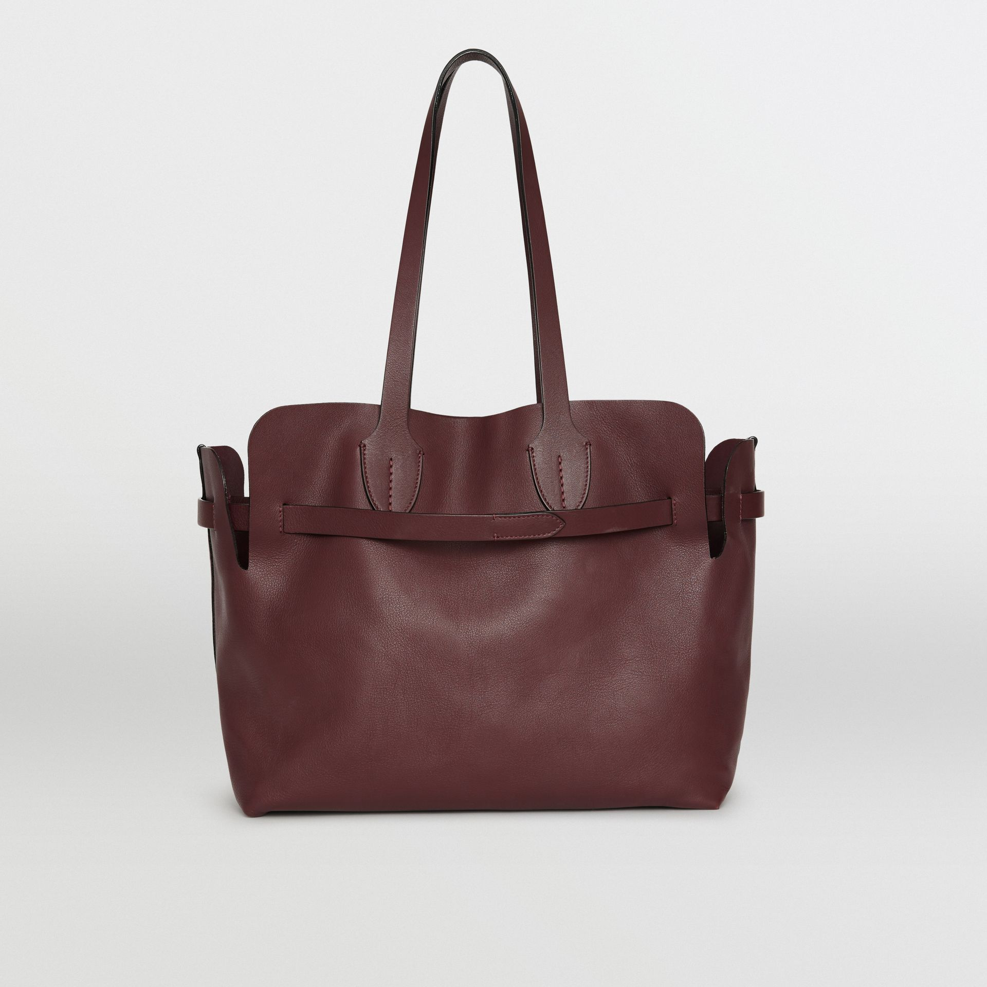 The Medium Soft Leather Belt Bag in Deep Claret - Women | Burberry - gallery image 5