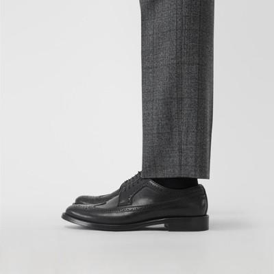 Burberry - Chaussures richelieu de style derby en cuir - 3
