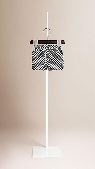 Dot Print Swim Shorts