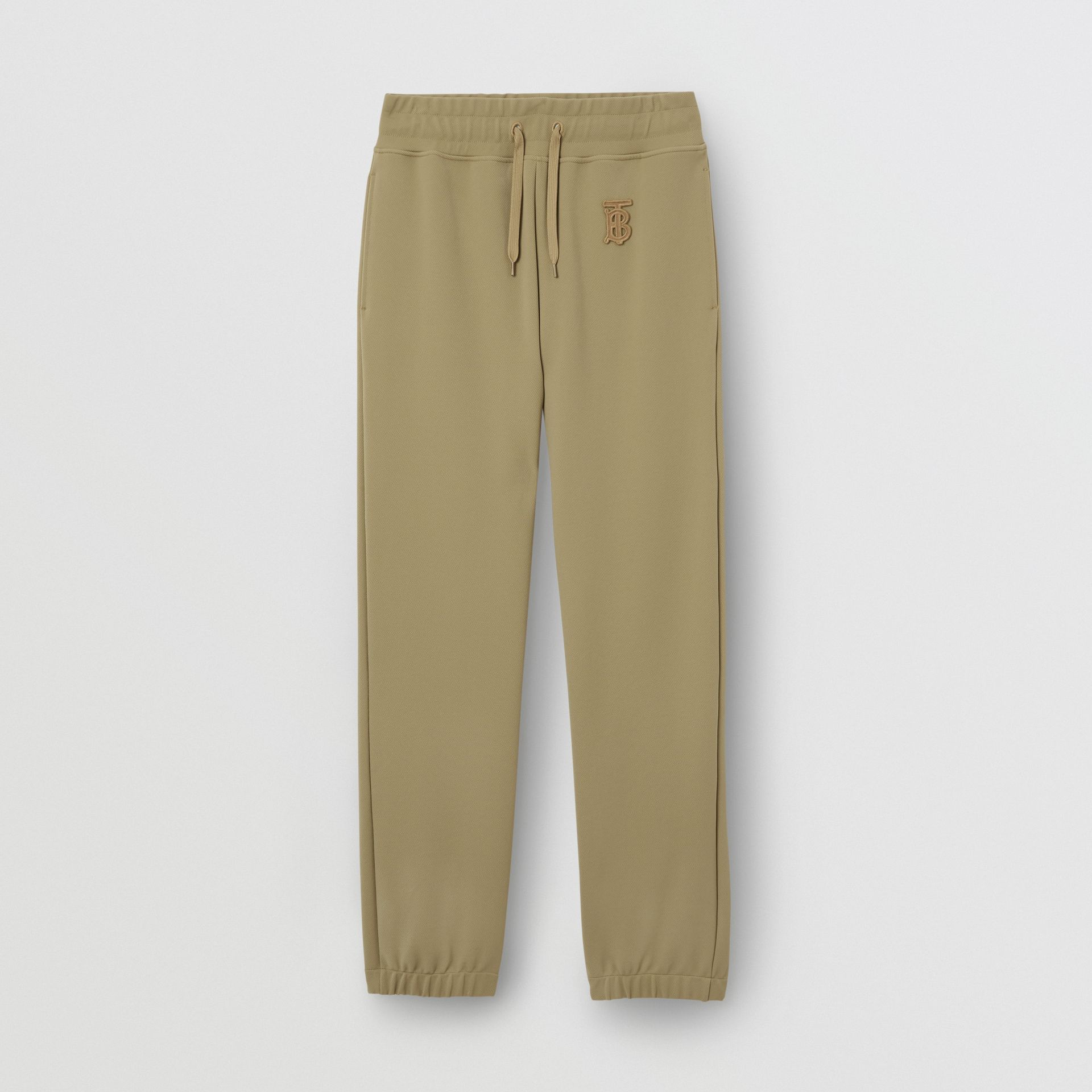 Monogram Motif Technical Trackpants in Camel - Women | Burberry - gallery image 3