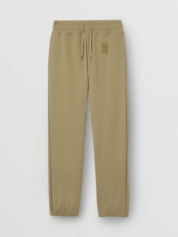 Monogram Motif Technical Trackpants in Camel