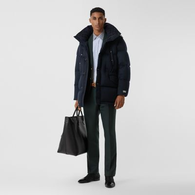 Cashmere Hooded Puffer Coat by Burberry