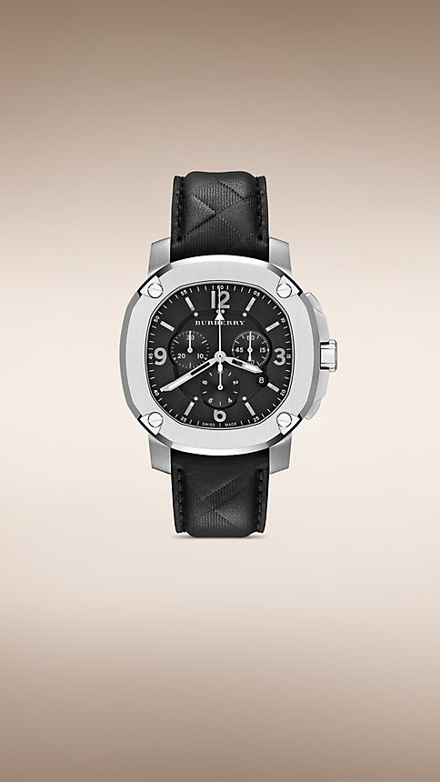Black THE BRITAIN BBY1107 47MM CHRONOGRAPH - Image 1