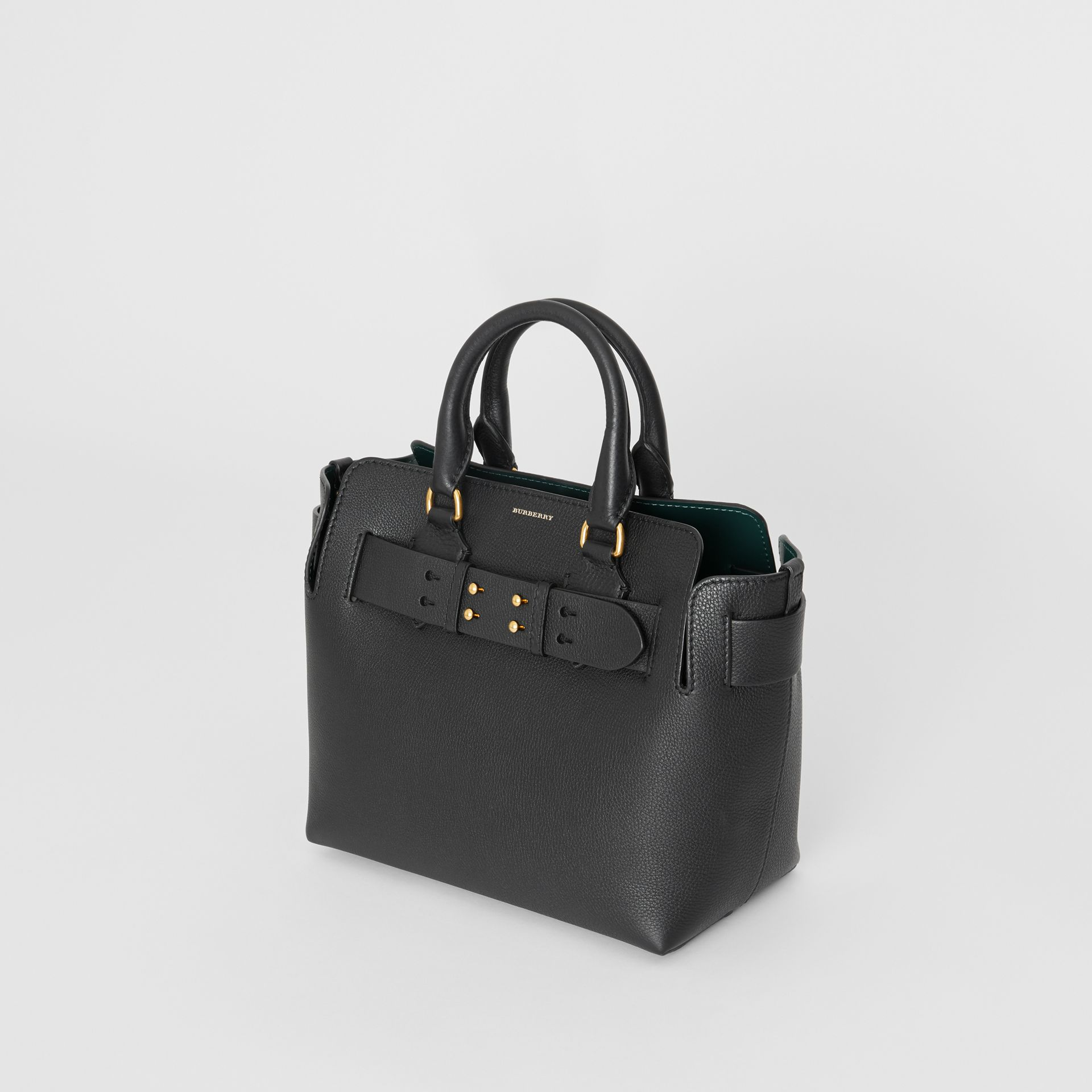 The Small Leather Belt Bag in Black - Women | Burberry United Kingdom - gallery image 4