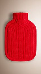 Cashmere Hot Water Bottle Cover