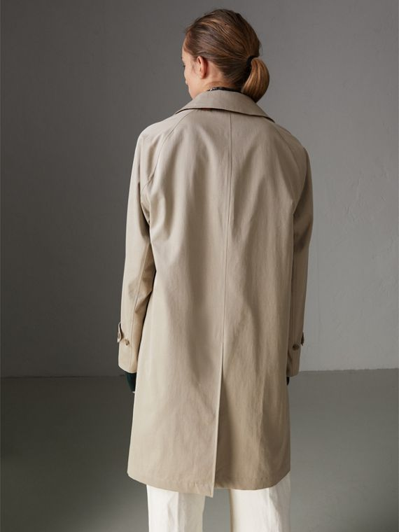 The Camden – Long Car Coat in Sandstone - Women | Burberry - cell image 2