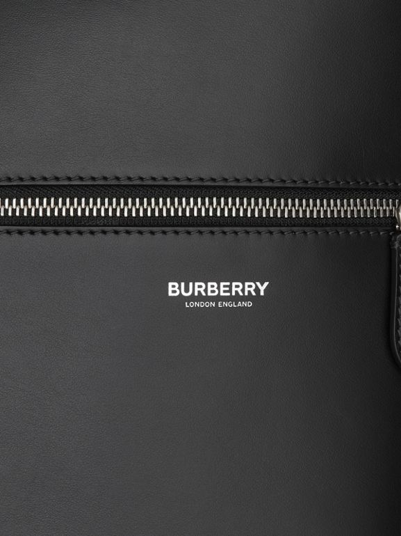 Leather Tote in Black - Men | Burberry United Kingdom - cell image 1