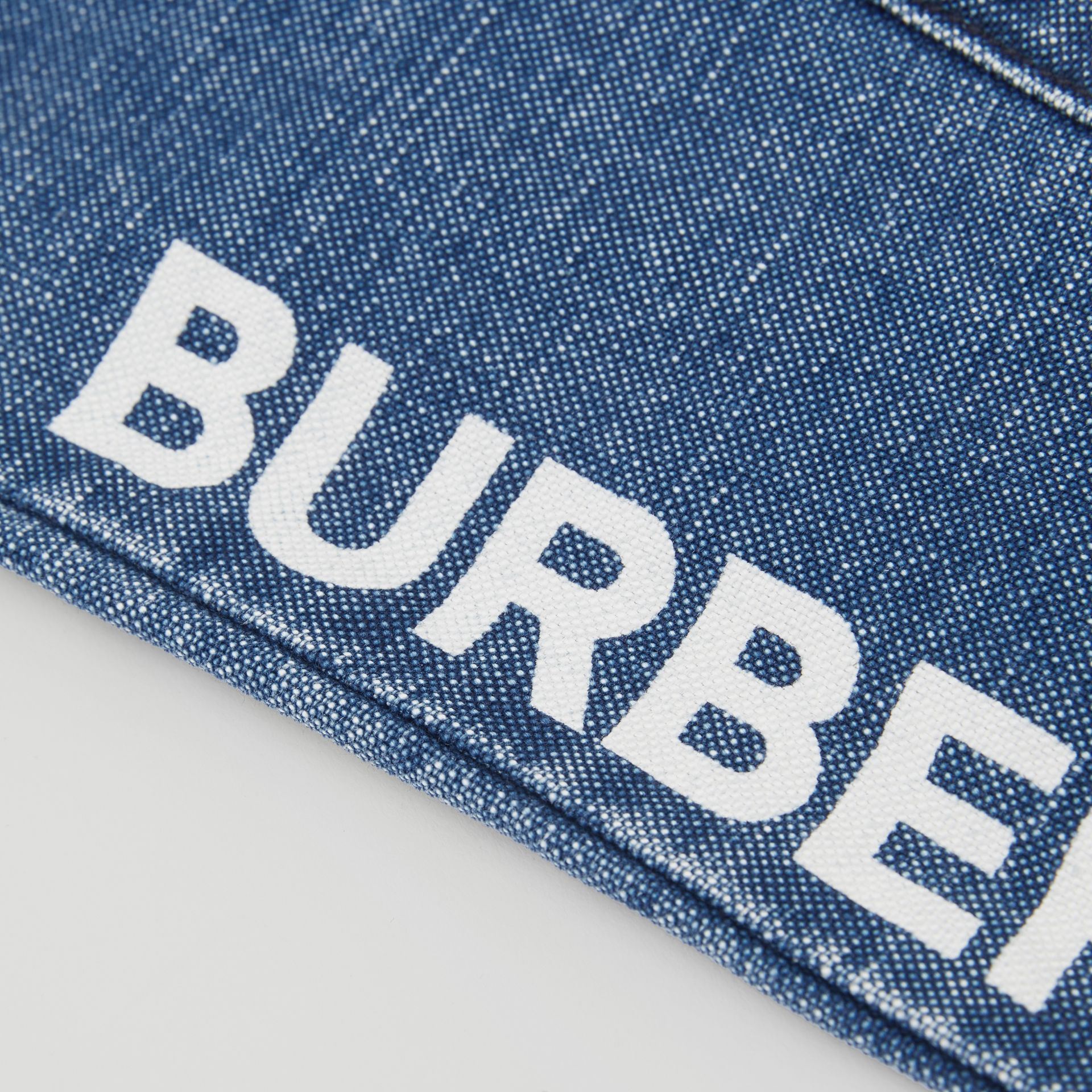 Logo Print Japanese Denim Jeans in Indigo - Children | Burberry - gallery image 1
