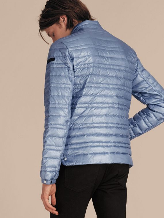 Pale blue Lightweight Down-filled Jacket Pale Blue - cell image 2