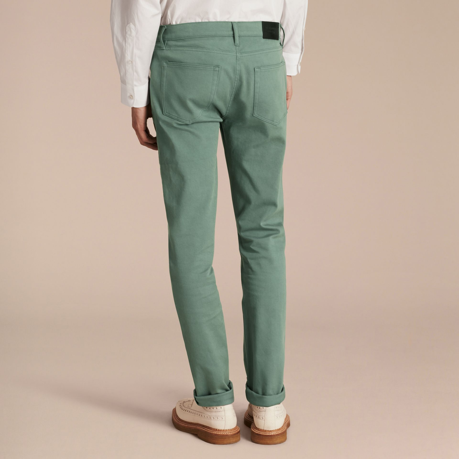 Slim Fit Stretch Japanese Denim - gallery image 3
