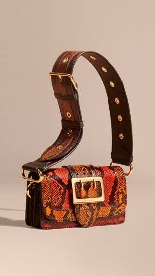 Sac The Patchwork en peau de serpent