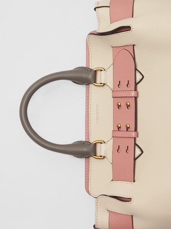 Petit sac TheBelt en cuir tricolore (Calcaire/rose Cendré) - Femme | Burberry - cell image 1