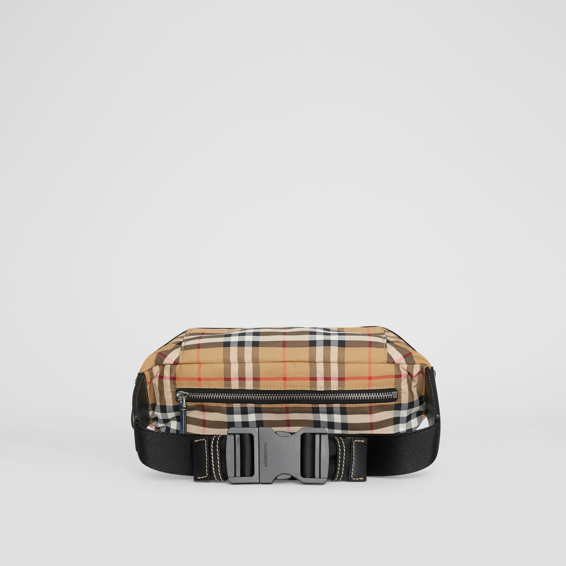Medium Vintage Check Bum Bag in Antique Yellow | Burberry - gallery image 8