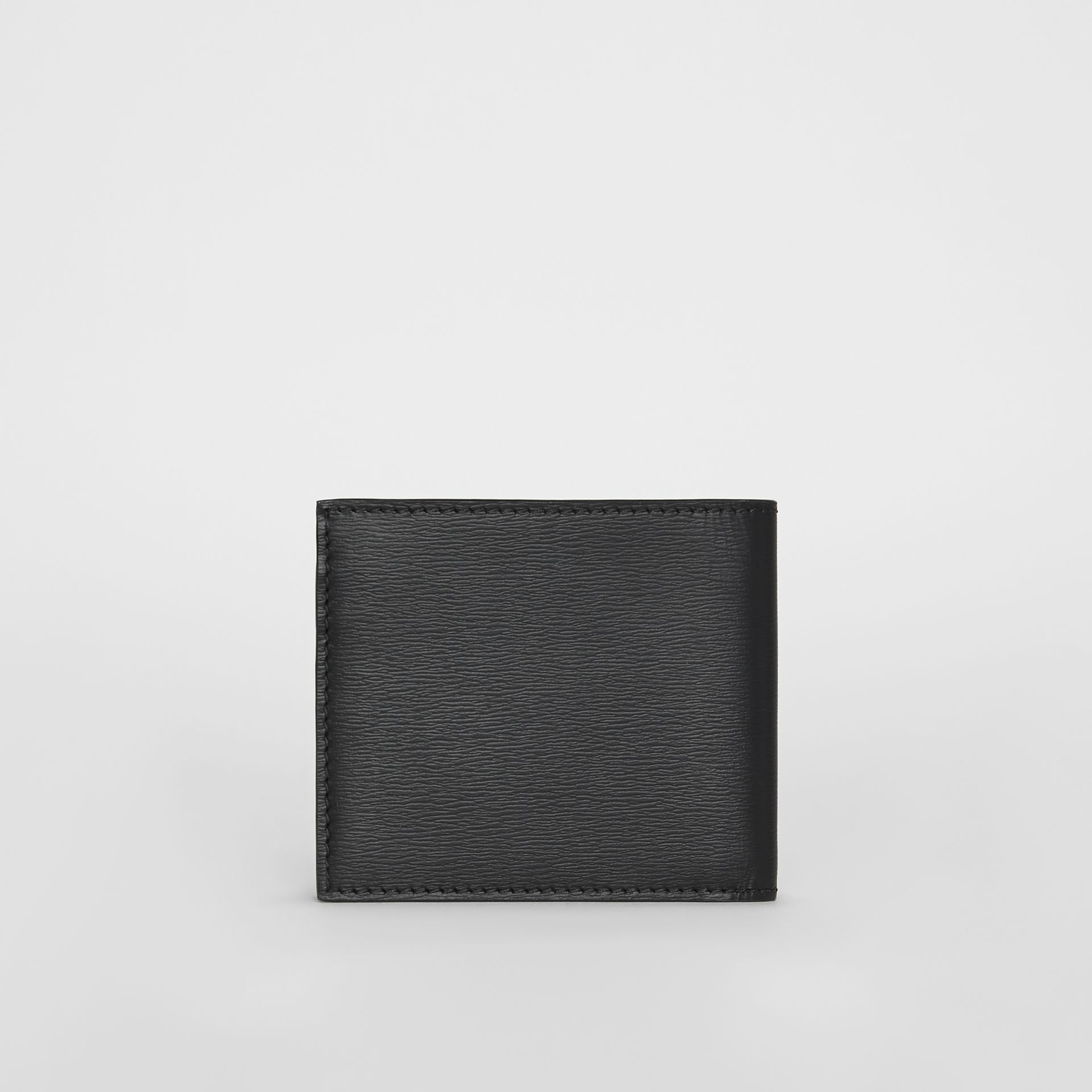 London Leather International Bifold Wallet in Black - Men | Burberry Canada - gallery image 5