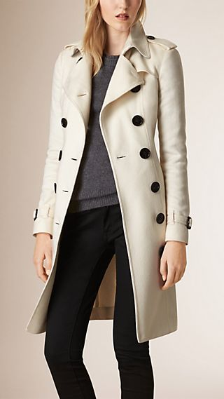 Trench coat Sandringham in cashmere