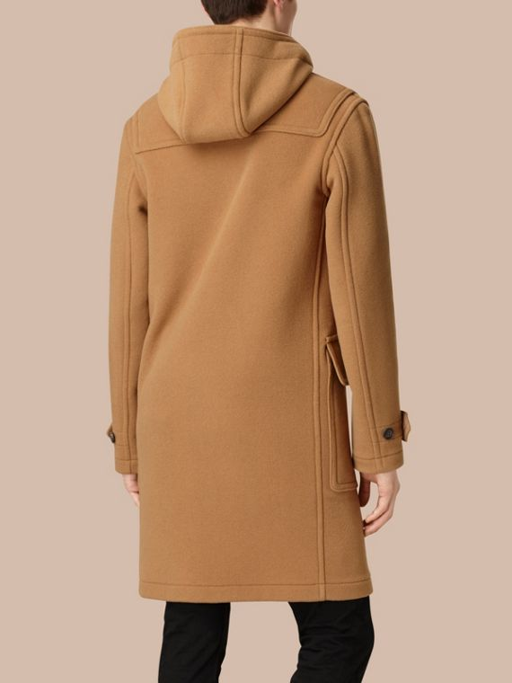 Camel Wool-Blend Duffle Coat Camel - cell image 2