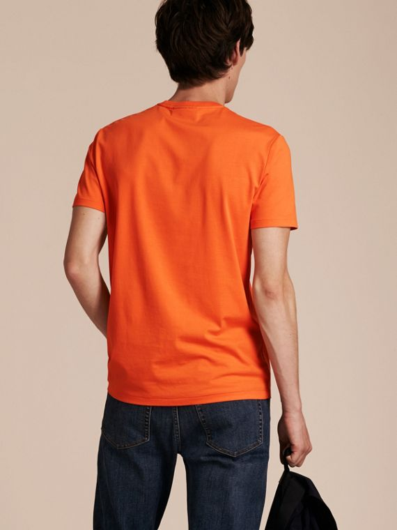Cotton Jersey T-shirt Clementine - cell image 2